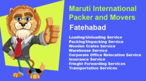Long Distance Packers and Movers Service Fatehabad to Hisar, Sirsa, Mumbai, Gurgaon, Ludhiana, Mumbai, Delhi, Chennai, Bangalore